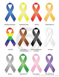 diabetes ribbon color type 1 diabetes ribbon vector