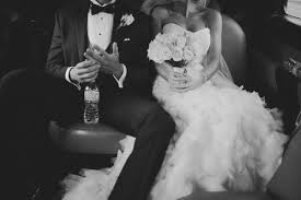 wedding dress goals couples black and white happy beautiful
