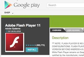 android adobe flash player android flash player rip how to get it now that it s pcworld