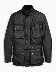 blue motorbike jacket leather motorcycle jackets belstaff us