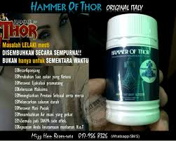 hammer of thor original italy mhr stokis produk kecantikan