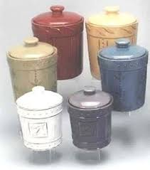 vintage enamel canister set kitchenalia shops