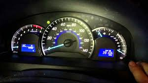 how to reset the maintenance light on a toyota corolla turn and reset maintenance light on toyota camry 2012 2011