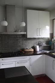 idee carrelage cuisine idee carrelage mural cuisine 12 photo decoration noir avec gris 5