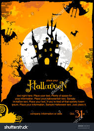 amazing spooky halloween invitations hd picture ideas for your