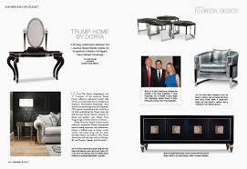 Home Design Magazine Florida Dorya Interiors Florida Design Magazine Features Trump Home By Dorya