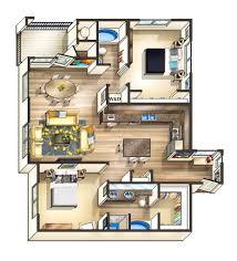 minimalist two bedroom apartments d floor plan design surripui net