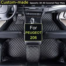 where is peugeot made for peugeot 206 car floor mats customized foot rugs 3d auto carpets