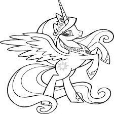 print u0026 download coloring pages my little pony