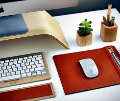 Wood Desk Accessories Desk Accessories Mouse Pad Keyboard Tray Co Wood Interior