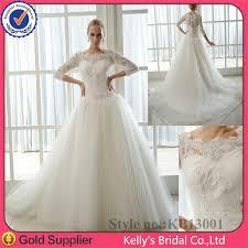 robe de mari e dentelle manche longue kb13001 manches longues robes de mariée en dentelle corsage et