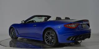 Maserati Granturismo Convertible Mc Centennial Edition Model