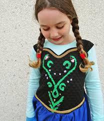 Anna Costume Frozen Halloween U2013 Anna Costume Thread Riding Hood
