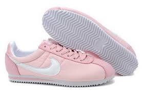 Shoo Johnson Baby professional nike classic cortez baby pink white shoes