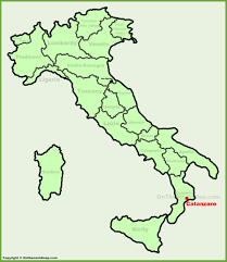 Trieste Italy Map by Catanzaro Location On The Italy Map