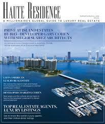 Charles Sieger Privé Developers In Haute Residence Cover Story Privé