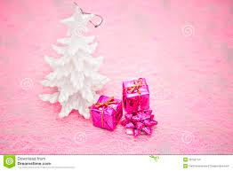 pink and purple christmas decorations stock images image 28165744