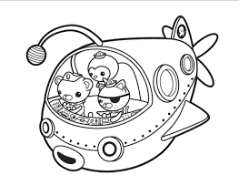 octonauts coloring page octonauts coloring pages printable