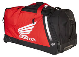motocross boots fox fox racing honda shuttle roller gear bag revzilla
