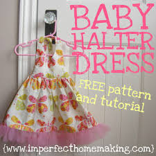 the complete guide to imperfect homemaking baby halter dress