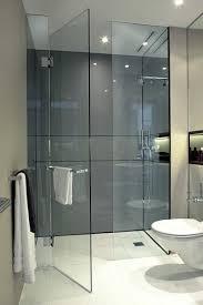 glass frameless shower door u0026 fixed screen bathroom pinterest