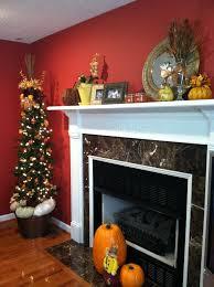 Chimney Decoration Ideas Brilliant Mantel Decoration Ideas For Thanksgiving