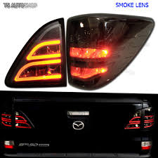 mazda bt50 smoke led tail lamp light rear taillight mazda bt50 bt 50 pro ute