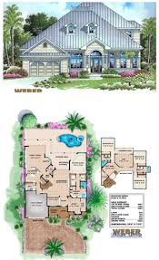 77 best beach house plans images on pinterest beach house plans