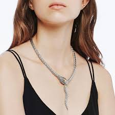silver long drop necklace images John hardy legends cobra nz93277x18 two tone necklace jpg