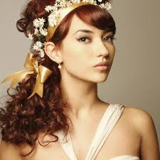 quinceanera updo hairstyles with curls and side bangs for long hair