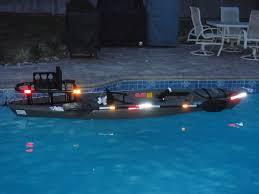 Kayak Night Lights Ready For Night Fishing Kayak Rigging