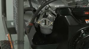 briggs u0026 stratton generator stops running carburetor 591378