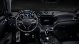 maserati quattroporte interior black 2018 maserati ghibli luxury sports car maserati usa