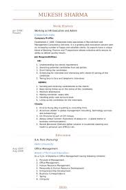 Hr Administrator Resume Sample by Hr Executive Resume Samples Visualcv Resume Samples Database