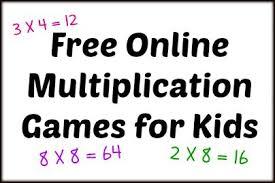 free online multiplication games for kids