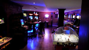 home arcade mancave ultimate gameroom video game pinball home