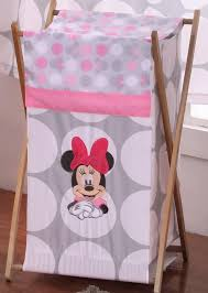 Baby Minnie Mouse Crib Bedding Set 5 Pieces by Baby Bedding Sets Disney Minnie Mouse Polka Dots Hamper Baby