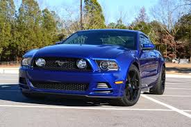 Blacked Out 2013 Mustang 2013 Mustang Deep Impact Blue Picture Thread Page 2