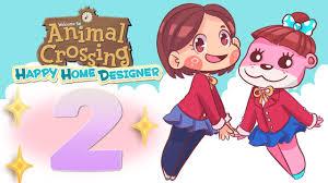 animal crossing happy home designer 2 book nook youtube