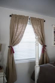 127 best burlap curtains images on pinterest burlap curtains