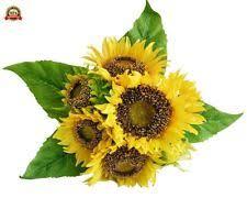 Fake Sunflowers Sunflower Plastic Dried U0026 Artificial Flowers Ebay