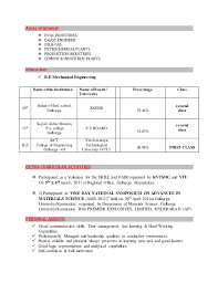 Best Interests For Resume by Outstanding Interest Area In Resume 17 For Your Best Resume Font