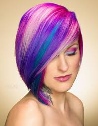 rainbow color hair ideas some alluring dye hairstyle ideas you must try this year