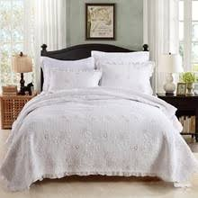 King Size White Coverlet White Quilted Bedspread Online Shopping The World Largest White
