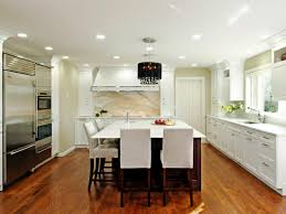 spacious contemporary kitchen with marble backsplash lauren open contemporary kitchen