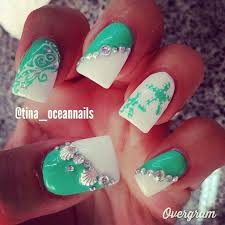 17 seashell summer nail ideas u2013 best simple home manicure u0026 new