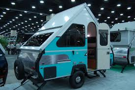 Retro Camper Pop Up Camper The Small Trailer Enthusiast