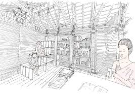 library sketch pics