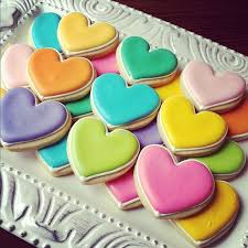 Valentine S Day Sugar Cookies Decorating Ideas by 36 Best Valentine U0027s Day Cookies Images On Pinterest Heart