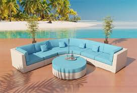 Best Price For Patio Furniture by Capri Outdoor Wicker Sectional Sofa Patio Furniture Viro Round